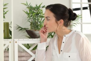 Woman in deep thought: SBDMedical Women's Issues Blog