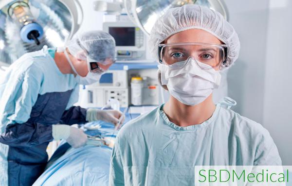 surgeons performing laparoscopic surgery